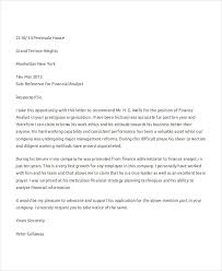 Financial Reference Letter Template Best 44 Business Reference Letter Examples PDF DOC
