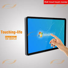 wall mount touch screen monitor