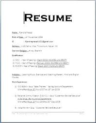 Sample Resume Format Delectable New Resume Format Sample Resume Format Sample Simple For Job In