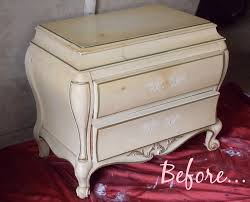 how to antique white furniture. Distressing White Paint How To Antique Furniture