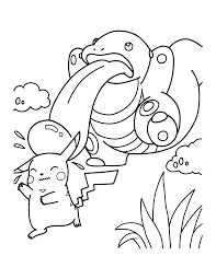Coloring Pages Of Pokemon Pokemon Coloring Pages Free Printable