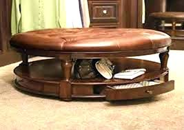 fascinating round brown ottoman round leather ottoman coffee table round brown leather ottoman brown leather coffee