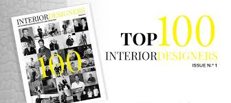 Top Interior Design Firms Unique THE WORLD'S BEST TOP INTERIOR DESIGNERS LIST BY COVETED MAGAZINE