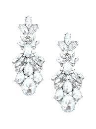 statement chandelier earrings olive piper chandelier earrings silver pearl statement chandelier earrings