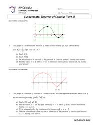 See more ideas about ap calculus, ap calculus ab, calculus teacher. Ap Calculus Fundamental Theorem Of Calculus Part 1