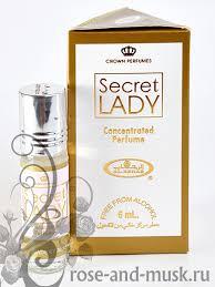 Купить Secret Lady / <b>Секрет Леди</b>, <b>духи</b>-роллер 6 мл для женщин ...