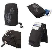 for TELIT GM 410 Black Pouch Bag 16x9cm ...