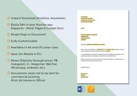 Sample Two Weeks Notice Letter 10 Free Documents In Pdf Word