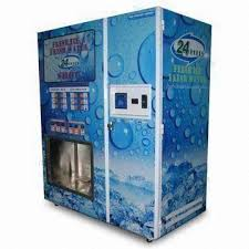 Water Ice Machine Vending Extraordinary Ice Vending Machine With Bagged Ice Tap Water Source RO
