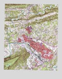 kingsport, tn topographic map topoquest Map Kingsport Tn kingsport, tn usgs topographic map maps kingsport tn
