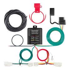 2016 2018 toyota rav4 curt mfg trailer wiring kit 56350