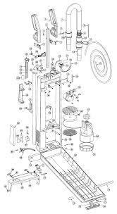 oreck upro14t vacuum parts handle left right oreck 01000619 02 tube oval aluminum 0100120 03 screw 4 x 10 kor0000027 04 screw 4 x 20 kor0000029
