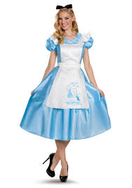 Alice You Size Chart Classic Alice Deluxe Adult Costume