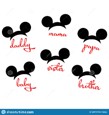 Mickey Mouse Vector Stock Illustrations – 210 Mickey Mouse Vector Stock  Illustrations, Vectors & Clipart - Dreamstime