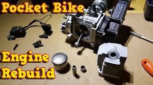 pocket bike engine rebuild full instructions 49cc, 50cc youtube 47cc pocket bike engine diagram Pocket Bike Engine Diagram #11