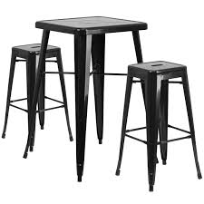Industrial Pub Table Sets Metal Pub Tables Bistro Sets Youll Love Wayfair
