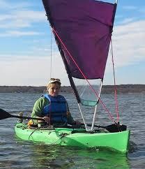 kayak sail