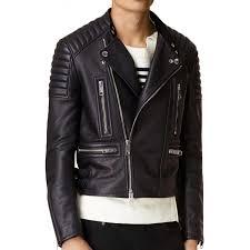 men s padded shoulders asymmetrical biker jacket zoom men s