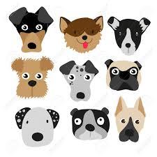 Dog Vector Design Dog Character Vector Design Dog Vector Collection Design