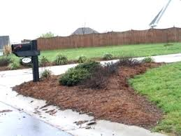 mailbox landscaping with culvert. Exellent Culvert Landscaping Ideas For Mailbox Area On Mailbox Landscaping With Culvert