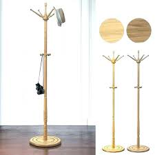 Standing Coat Rack Plans Mesmerizing Wooden Coat Tree Each Coat Rack Is Diy Wooden Coat Tree