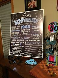party ideas for mens 50th birthday. welcome chalkboard 50th birthday ideas party for mens