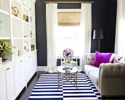 black walls add depth to small living rooms simple living room