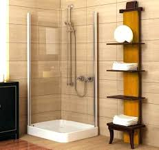 cool stand up shower curtain in walk ideas for small bathroom tile