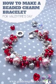 best diy valentines day gifts diy beaded charm bracelet cute mason jar valentines day