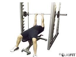 Decline Smith Machine Bench Press Video Exercise Guide U0026 TipsSmith Bench Press Bar Weight