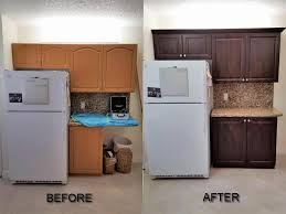 before after pictures of kitchen cabinet refacing call now for