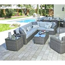 grey rattan garden furniture mesmerizing gray wicker outdoor furniture at amazing patio and baker teak 9