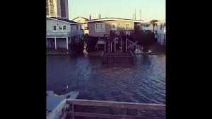 Video Extremely High Tide Floods North Myrtle Beach