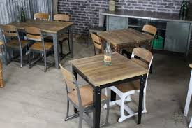 industrial style restaurant furniture. Industrial Style Cafe Bar Tables Kitchen Restaurant 1950s Inspired Furniture D