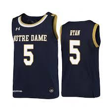 Nba Replica Jersey Size Chart Notre Dame Fighting Irish 5 Cormac Ryan Notre Dame Fighting