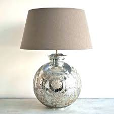 glass lamp with burlap shade mercury glass lamp photos gallery of tips for mercury glass lamps mercury glass lamp medium size of lamps glass table lamp