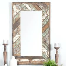 distressed wall mirror distressed wood slat wall mirror distressed wood framed mirrors distressed white wall mirror