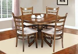 country style oak finish wood round dining table order at best vita