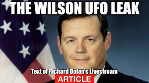 Article Ufo Leak Of The Century Richard Dolan Analyzes The Admiral