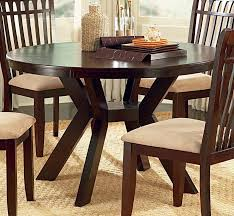 dining room round tables with leaves lovable wood chair padded seat ideas black leather cushions on