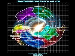 Star Trek Galaxy Chart Star Trek Unity One Political Map 2381 Star Trek Star