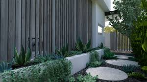 Landscape Designers Perth Jolimont Display Home Perth Landscape Design Project