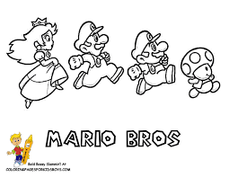 Small Picture Daring Mario Coloring Pages Yoshi Free Wario Super Mario
