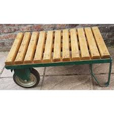vintage decorative industrial trolley coffee table previous d