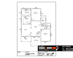 house plan map single floor sq ft kerala home design maps designs 5