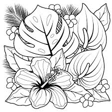 Printable Coloring Pages Of Flowers And Butterflies Free Printable Coloring Pages Of Flowers And Butterflies