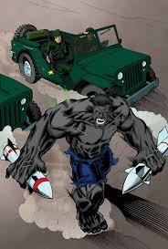 Grey Hulk Marvel Comics Color Sample