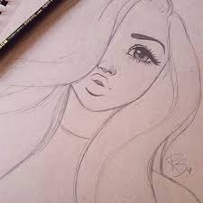 simple drawing in pencil. Delighful Pencil A Simple And Pretty Drawing Pencil Sketches Simple Simple Cartoon Drawings  Face Drawing With In R