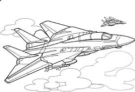 Small Picture Plane Coloring Page Coloring Pages Planes Coloring Page Planes