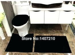 black bathroom rug set black bath rug set stunning hot ing luxury modern bathroom rug sets toilet seat cover floor black bath rug set black 3 piece
